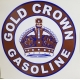 Gold Crown Discount Decal. approx...