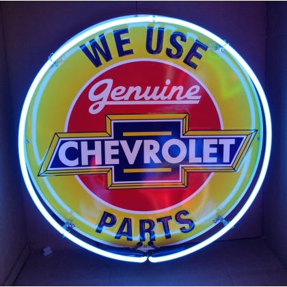 Full Can 24 inch Chevrolet Parts Neon