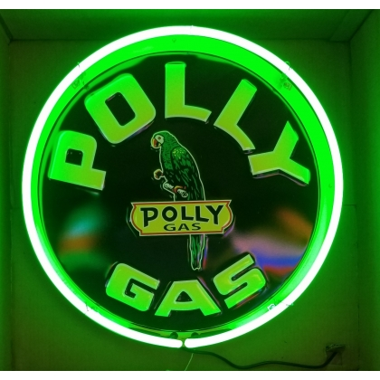 "24"" Round Polly Neon Sign"
