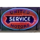 UNITED MOTORS NEON SIGN APPROX 4FT..