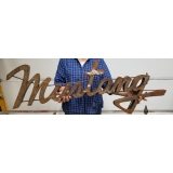 MUSTANG CAR METAL SIGN HUNGRY ARTIST H..