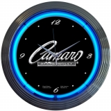 Camaro Neon Car Clock 15