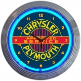 Chrysler Plymouth Neon Car Clock 15