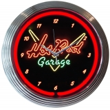 Hot Rod Garage Neon Clock 15