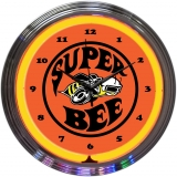 Super Bee Neon Clock 15