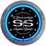 Chevrolet Super Sport Clock 15