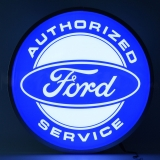 15 INCH BACKLIT LED LIGHTED SIGN FORD ..