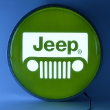15 INCH BACKLIT LED LIGHTED SIGN JEEP ..