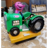 Coin Operated Barney The Dinosaur Kidd..