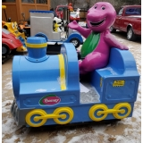 Coin Operated Barney The Dinosaur Trai..
