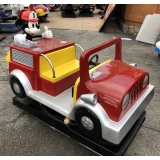 Coin Operated Mickey Firetruck Kiddie ..