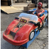 Coin Operated Spider-Man Car Kiddie Ride