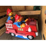 Coin Operated Bert & Ernie Kiddie Ride