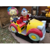Coin Operated Cartoon Car Kiddie Ride