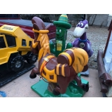 Coin Operated Donkey/Cactus Kiddie Ride