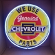 Chevrolet Parts Neon Sign 24