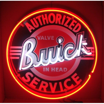 Full Can 24 inch Authorized Buick Service Neon - 2 Color