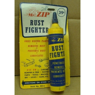 Original NOS Mr Zip Rust Fighter Store..