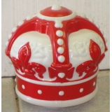 Red Crown Gasoline Gas Pump Globe