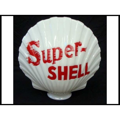 Reproduction Super Shell Gas Pump Globe