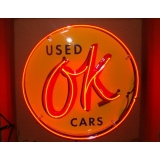 Used OK Cars Neon Sign 25