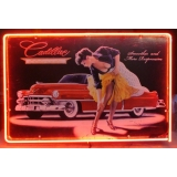Cadillac Neon Pin Up Full Canister Stu..