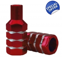 Team Dogz Stubby Nutz Stunt Pegs Red