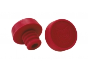 3D Fat Bung Ends - Pair Red