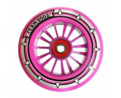 Pro Nylon Wheel - Pink Core, Pink PU