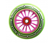 Pro Nylon Wheel - Pink Core, Green PU