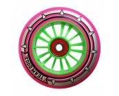 Pro Nylon Wheel - Green Core, Pink PU
