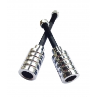 Silver Colour Chrome X-Gen Pro4 Stunt Pegs