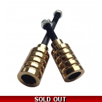 Gold Colour Chrome X-Gen Pro4 Stunt Pegs