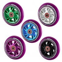 Pro 100mm Alloy Core Scooter Wheel - Purple PU