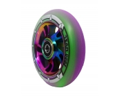 110mm Rainbow Swirl Alloy Core With Mixed Purple..