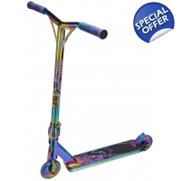 Team Dogz Pro 4 X-GEN Rainbow Stunt Scooter