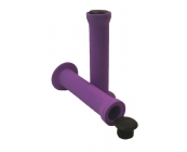 Slide on Purple Handlebar Grips