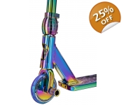 Team Dogz Pro 4 X Neochrome Rainbow Stunt Scooter