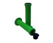 Slide on Green Handlebar Grips