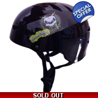 Black Team Dogz Helmet