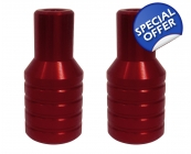 Team Dogz Stubby Stunt Pegs Red