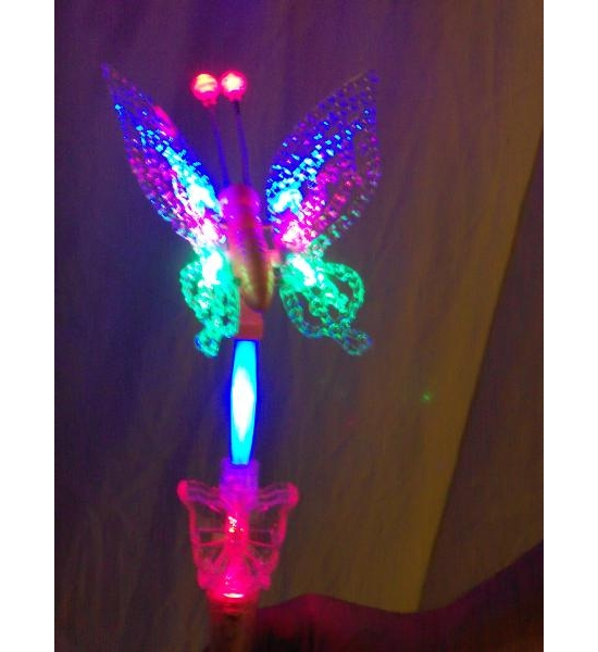 BUTTERFLY LIGHT UP FLASHING NOVELTY x 72