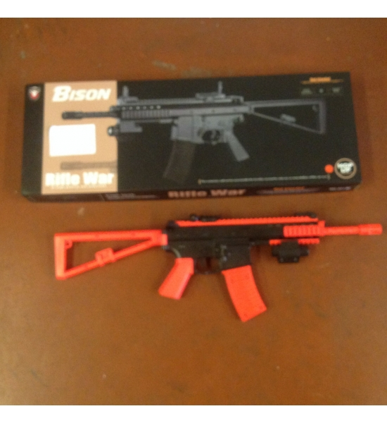 B301 bb gun plastic x 12 red or blue