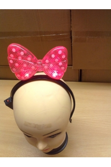 Light up Minnie head bopper x 144