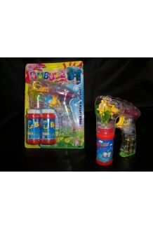 Bubble Gun with lights and sound  WHOLESALE x 72