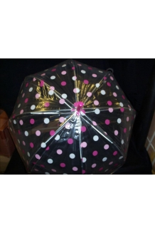 POLKA DOT DOME BROLLY x 60 ONLY £1.95