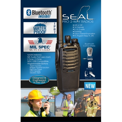 Blackbox SEAL Two Way Radio UHF Bluetooth