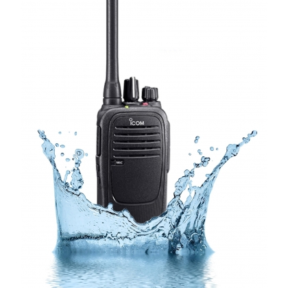 Icom IC-F1000/F2000 VHF/UHF Slim & Waterproof Two-Way Radio