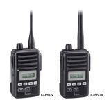 Icom F50V/F60V-11 Two Way Radio +Pager..