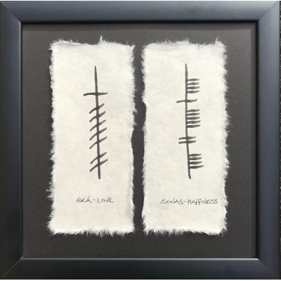 Ogham Wish Double Love & Happiness